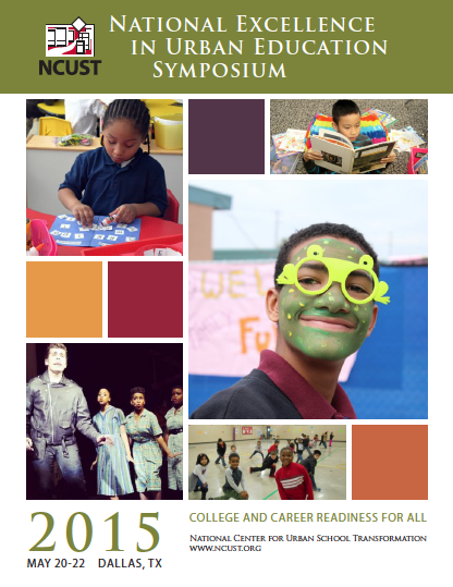 2015 National Excellence In Urban Education Symposium Program Guide