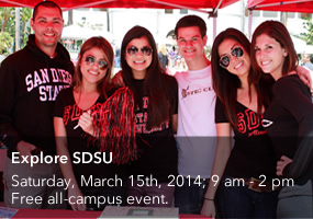 explore sdsu for more information