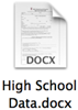 high school data document