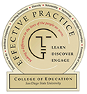 COE Identity Mark: Learn, Discover, Engage