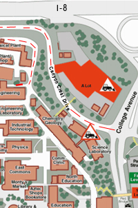 Map to Engineering Building