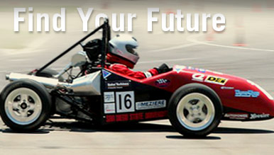 Find Your Future - Racecar