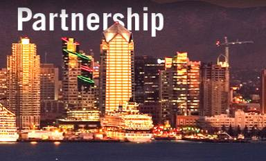 Partnership - San Diego Skyline
