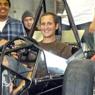 SAE Team with their race car