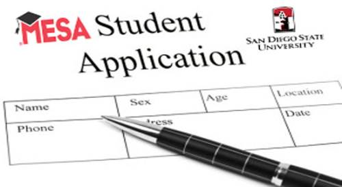 SDSU MESA application main