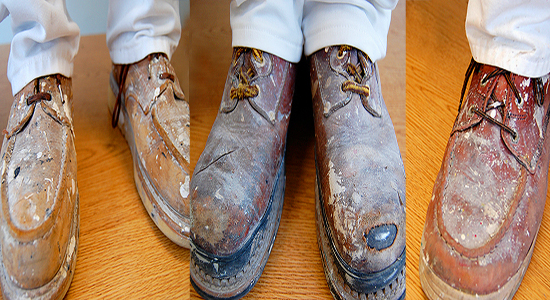 Painters' boots