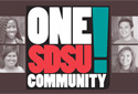 One SDSU Community logo