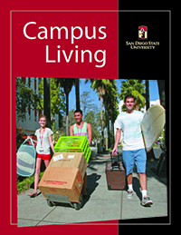 2014-15 Campus Living Brochure Front Page