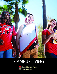 2015-16 Campus Living Brochure Front Page