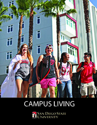 2016-17 Campus Living Brochure Front Page