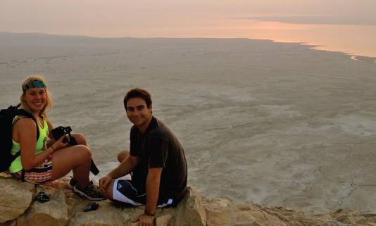 SDSU students studying in Israel