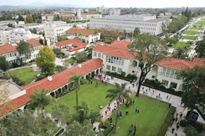 Hardy Tower view of SDSU - photo by Sandy Huffaker