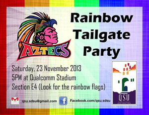 Rainbow Tail Gate