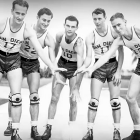 San Diego State national champion basketball team from 1941