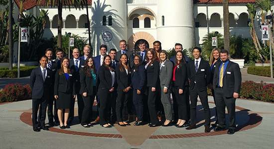 The SDSU Sports MBA program was ranked fourth in the world.