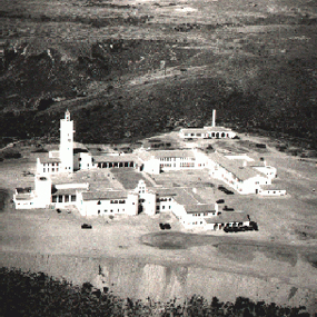SDSU's new campus on Montezuma Mesa in 1930