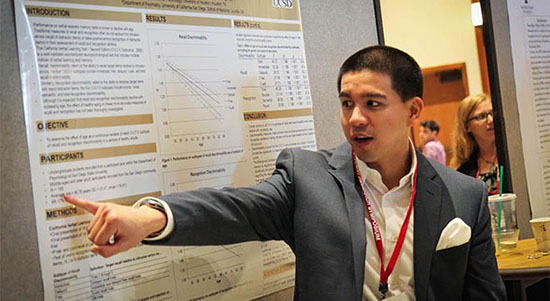 Participant at California State University Student Research Competition.