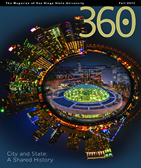 Fall 2017 issue of 360: The Magazine of San Diego State University