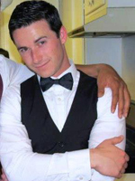 Nick Holeman in a tux