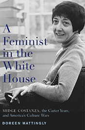 "Cover of ""A Feminist in the White House"""