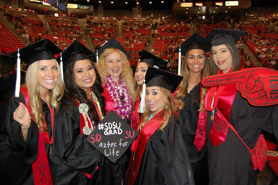 Caps, Gowns and Hashtags   NewsCenter   SDSU