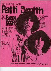Patti Smith stopped at SDSU for a concert in 1976.