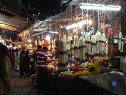 Malleswaram is a traditional market in Bangalore.