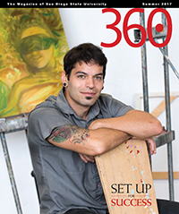 Summer 2017 issue of 360: The Magazine of San Diego State University