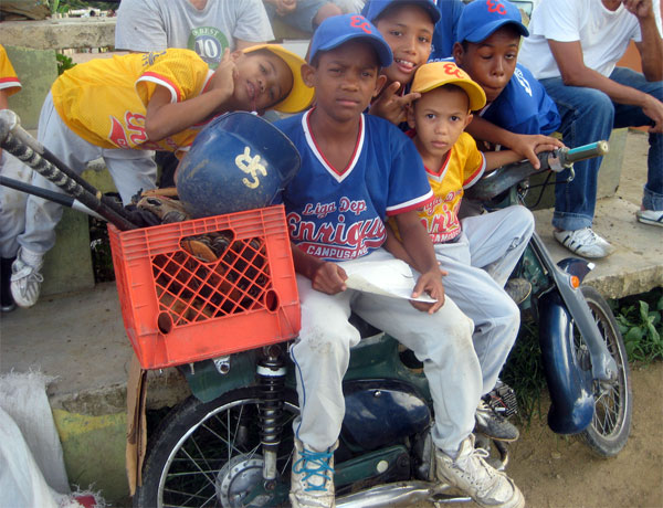 Baseball is the national obsession in the Domincan Republic.