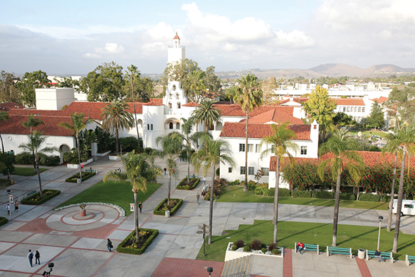 The Princeton Review rated SDSU highly for its admissions, academics, financial aid, quality of life and sustainability efforts. (Photo: Sandy Huffaker Jr.)
