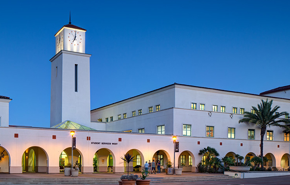 The SDSU Business Forum: Economic Outlook 2017 will feature a networking reception, panel discussion and Q&A session. (Photo: Jim Brady)