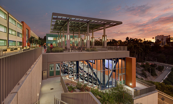 The honor highlights SDSU's sustainability practices as well as its commitment to sustainable education coursework. (Photo: Jim Brady)