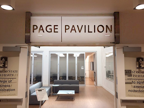 In 2014, Thomas Page donated funds to construct the Page Pavilion, a suite of meeting and conference rooms.