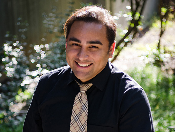 One of Saúl Maldonado's goals is to address the instructional needs of English language learners in public school systems. (Credit: Saúl Maldonado)