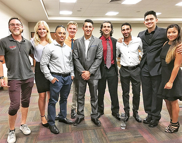 The Entrepreneur Society meets at 7 p.m. every Wednesday in Park Boulevard, Room 141 in the Conrad Prebys Aztec Student Union.