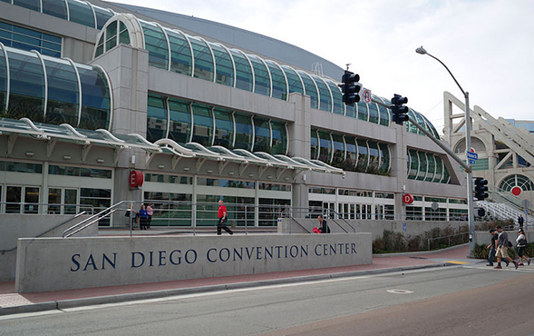 This year's Society for Neuroscience Annual Meeting is being held at the San Diego Convention Center. (Credit: Wikimedia Commons)