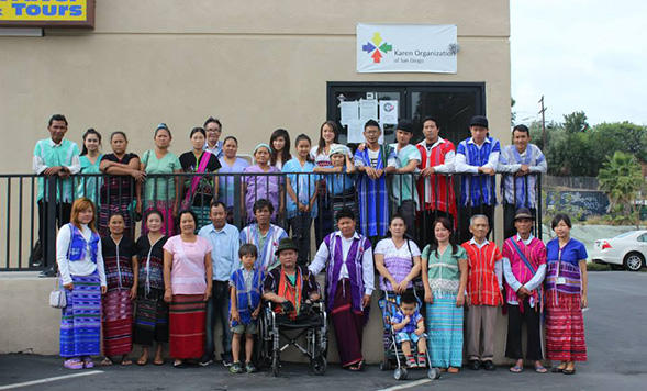 The Karen Organization of San Diego meets the needs of Karen refugees who live in San Diego. (Credit: KOSD)