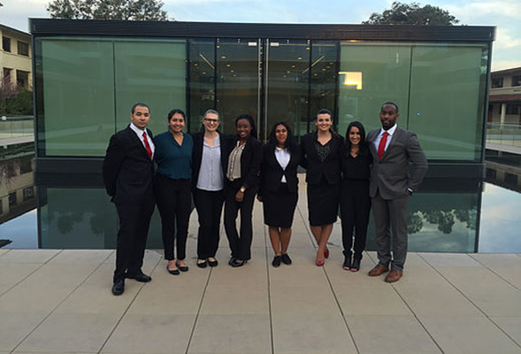 The SDSU Mock Trial team was established in October 2015. (Credit: SDSU Mock Trial)