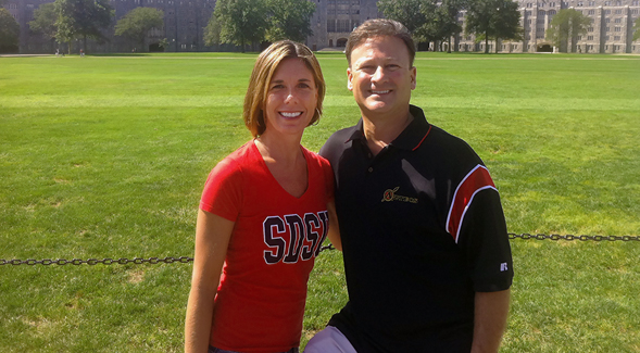 Stephanie ('95) and Matt ('90) Dathe
