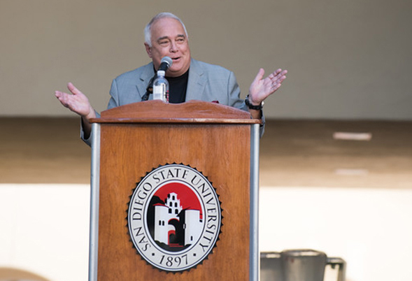 A $25 million gift from Ron and Alexis Fowler put SDSU over the top in its first comprehensive fundraising campaign. (Photo: Lauren Radack)