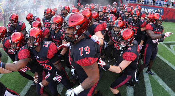 SDSU will play in the Armed Forces Bowl on Saturday, Dec. 23. (Credit: GoAztecs)