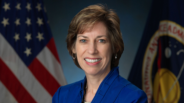 Veteran NASA astronaut Ellen Ochoa earned a bachelor's degree in physics from SDSU. (Credit: NASA)