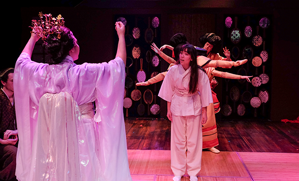 """The Matsuyama Mirror"" runs from Friday, Feb. 17 through Sunday, Feb. 26 at SDSU's Experimental Theatre. (Photo: Ken Jacques)"