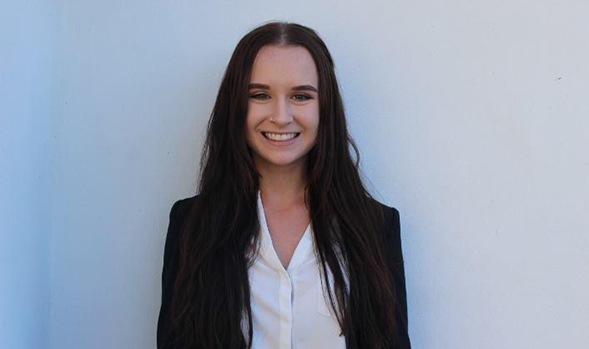 SDSU student Jillian Grabenstein hopes to one day work for an architecture firm that focuses on building sustainability. (Credit: Jillian Grabenstein)