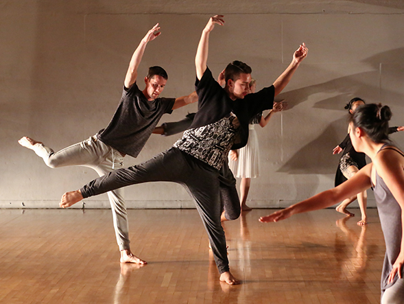 SDSU dance students collaborated with choreographers from the Tijuana-based Lux Boreal Dance Company. (Photo: Ken Jacques)