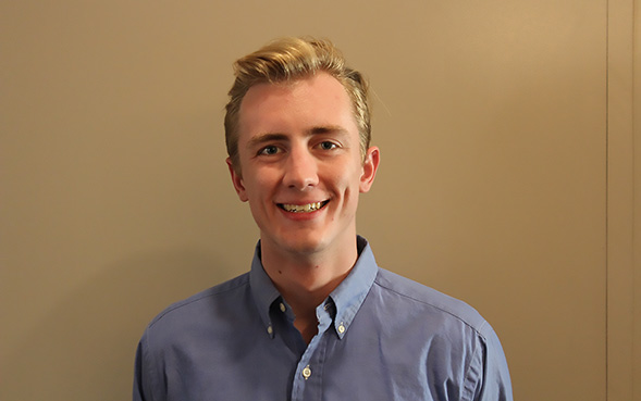 Austin Kennedy is majoring in interdisciplinary studies in the departments of marketing, finance and sociology.