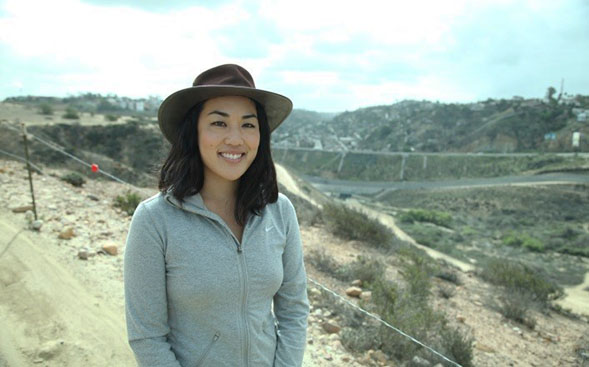 Kristine Taniguchi is one of the 10 SDSU graduate and Ph.D. students selected as an Inamori Fellow.