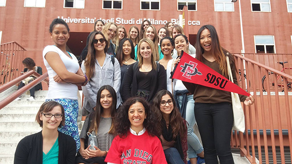 SDSU's College of Extended Studies offers more than 50 faculty-led study abroad programs. (Credit: SDSU's College of Extended Studies)