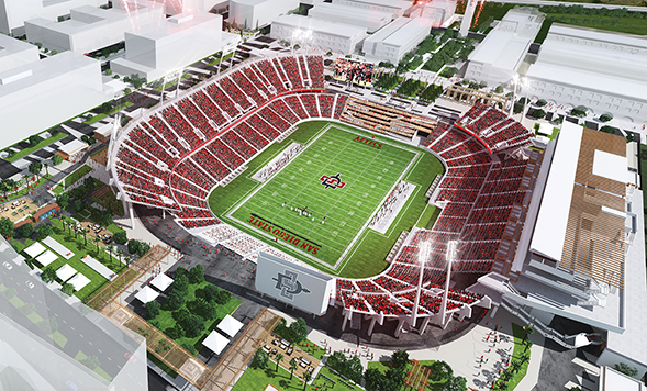 A Stadium for San go | NewsCenter | SDSU on farmers field map, davis wade stadium map, high point solutions stadium map, the coliseum map, oracle stadium map, cowboys stadium map, o.co coliseum map, lockhart stadium map, charlotte knights stadium map, pbs stadium map, new britain stadium map, yager stadium map, avaya stadium map, orlando city stadium map, chargers stadium map, waldo stadium map, verizon stadium map, tdecu stadium map, houston rodeo stadium map,