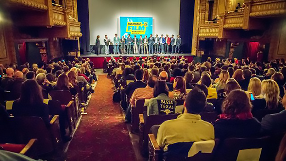 Over the past year, high-profile film festivals in the United States screened three times as many narrative films directed by men as by women. (Credit: SXSW Film Festival)